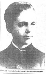 Dr. Louisa Van Vleet Wright