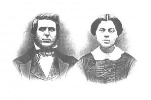 Lewis and Elizabeth Van Vleet